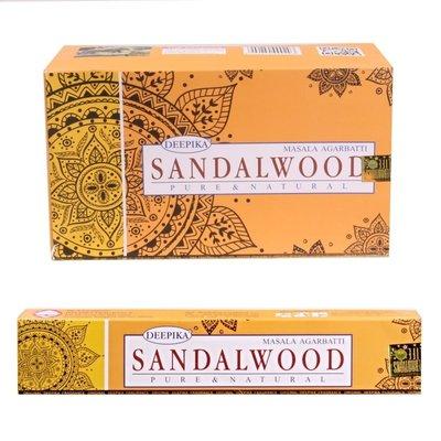 [晴天舖] 印度線香 DEEPIKA SANDALWOOD 檀香 銷售日本 新品精緻上市!