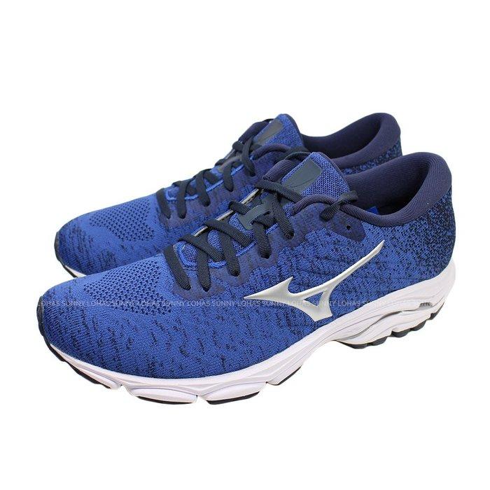 (B2) MIZUNO WAVE INSPIRE16 WAVEKNIT 男慢跑鞋 耐磨 避震 支撐 J1GC20[迦勒]