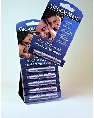 Groom Mate Platinum XL 美國製 高級不鏽鋼 鼻毛 耳毛 修剪器