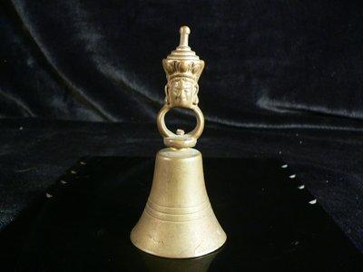 乖乖@賣場~藏傳法器.藏傳銅器.老銅器.銅雕.銅鈴.手搖鈴.聲音清澈響亮.PK1007