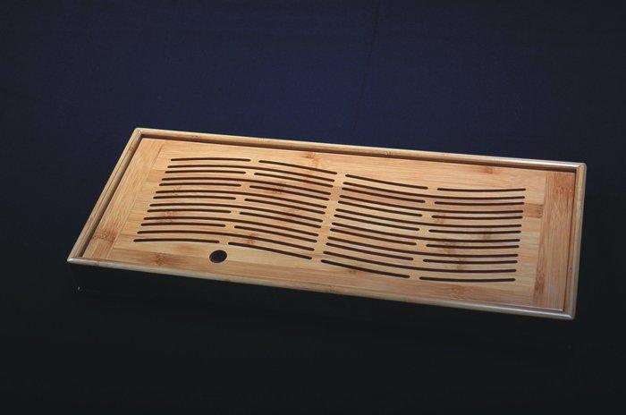 長方流水箱式茶盤 《極品孟宗竹茶盤- A級板》兩用式【聚寶堂】