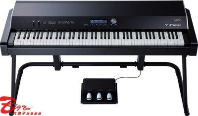 大鼻子樂器 免運 Roland V-piano 數位鋼琴 88鍵