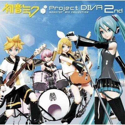 [日版動漫卡通] 初音 Miku - Project DIVA - 2nd Nonstop Mix Collection