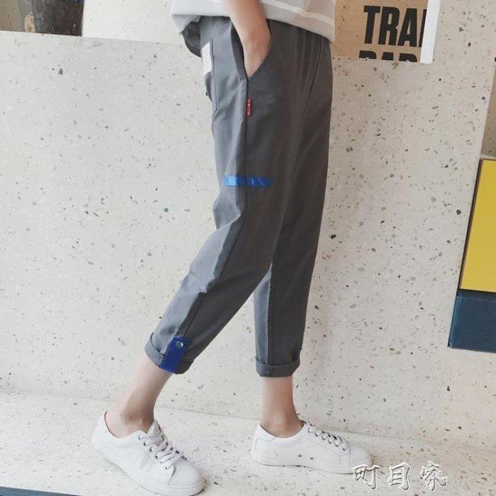 夏季休閒褲子男薄款運動9九分褲韓版潮流8八分窄管7七分短褲