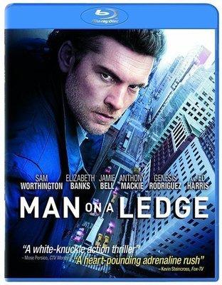 BD 全新美版【驚天換日】【Man on a Ledge】Blu-ray 藍光 山姆沃辛頓