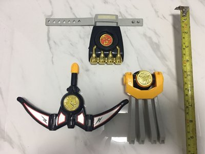 忍者戰隊 迷你版玩具