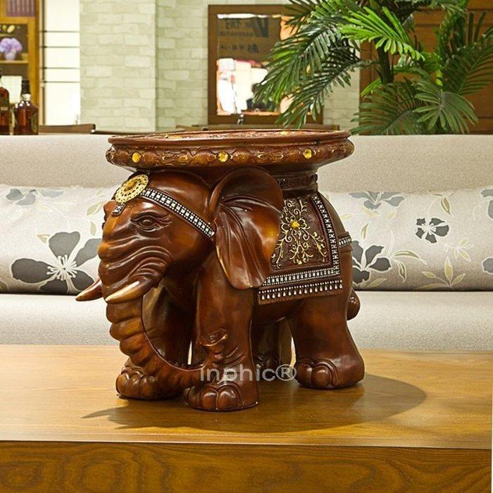 INPHIC-廠家熱銷 樹脂工藝裝飾品象凳 家居鎮宅避邪擺件F