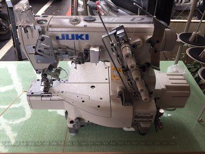 JUKI MF7900 筒型 三本車 繃縫 工業用 縫紉機 自動切線 直驅馬達 新輝針車有限公司