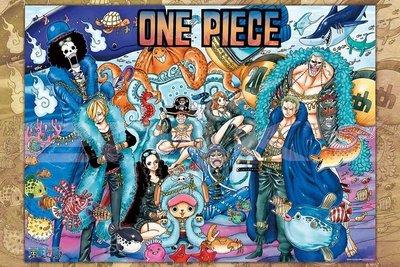 日本拼圖 One piece 海賊王 航海王 20周年紀念版 1000片拼圖.1000-574