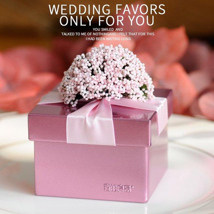 衣萊時尚-熱賣款  喜糖盒創意馬口鐵盒歐式結婚禮品盒子婚慶用品TJ-6