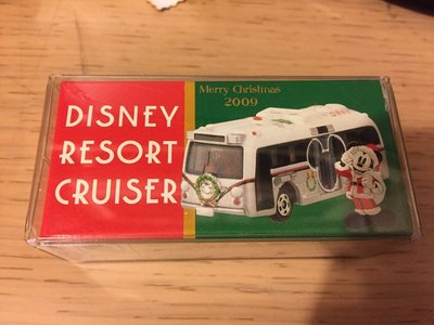 Tomica Tomy disney resort cruiser christmas 2009 東京迪士尼限定巴士