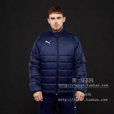 正品球衣~海外直郵 Puma Liga Casuals 足球 訓練 棉服 夾克 655301 06