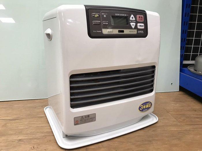 【JP.com】日本原裝 DAINICHI FW-3714SLX 白色 中古煤油電暖爐 E1226-A50