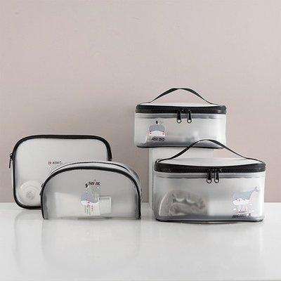鯨魚 鉛筆盒 B下標區 筆袋 文具 化妝包 果凍包 收納包 手提包 防水包 透明袋 透明化妝包 ❃彩虹小舖❃【Z115】