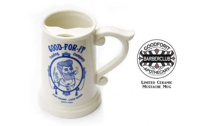 GOODFORIT /  Goodforit Ceramic Mustache Mug九週年限定陶瓷防漬馬克杯