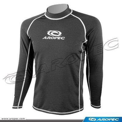 台灣潛水--- AROPEC   長袖刷毛萊克保暖防曬衣 (男款)