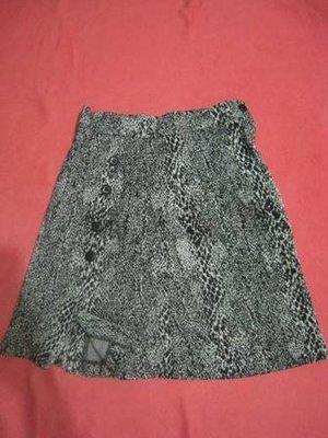 豹紋全棉小短裙一元起不可合併運費