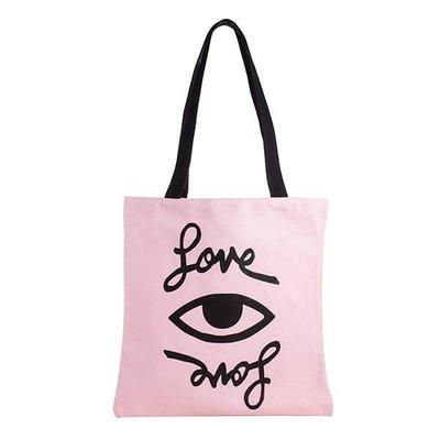 星巴克 RM LOVE EYE 提袋 聯名 粉紅 眼睛