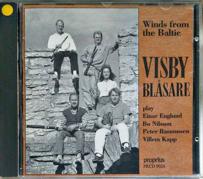 Visby Blasare - Winds From The Baltic 無IFPI 二手瑞典版