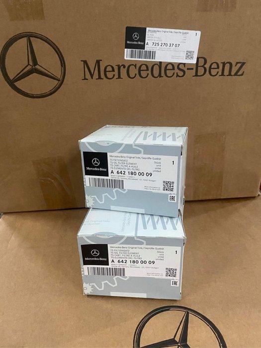 BENZ 賓士正原廠 A6421800009 原廠機油芯 M642 CDI W222 R350 ML