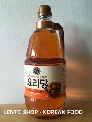 LENTO SHOP - 韓國希杰 CJ果糖 料理果糖 糖漿 2.45kg 大瓶裝