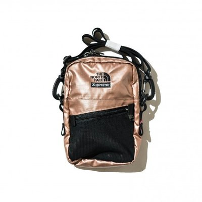 (TORRENT) SUPREME x THE NORTH FACE METALLIC SHOULDER BAG 小包