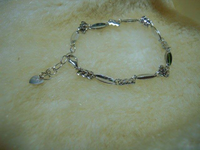 ※水晶玫瑰※ 925純銀造型手鏈(RD114)