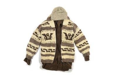 Cowichan Hand Knit Talon Zipper Sweater 加拿大製 雷鳥 手工 編織 考津 外套