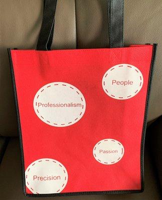 【二手】台灣金融研訓院 提袋 環保袋 購物袋 ~ 有輕微髒汙