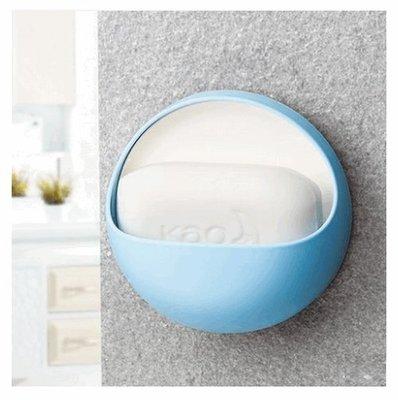 創意肥皂盒壁掛免打孔吸盤衛生間浴室瀝水置物香皂架_☆找好物FINDGOODS☆