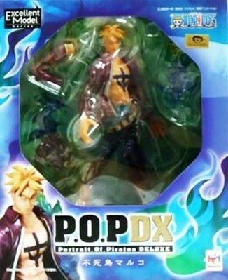 日本正版 POP 海賊王 航海王 NEO-DX 不死鳥 馬可 模型 公仔 日本代購