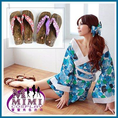 【P-007】 日式和服女用木屐、巫女服木屐~下標就送兩趾襪~蜜蜜衣舖