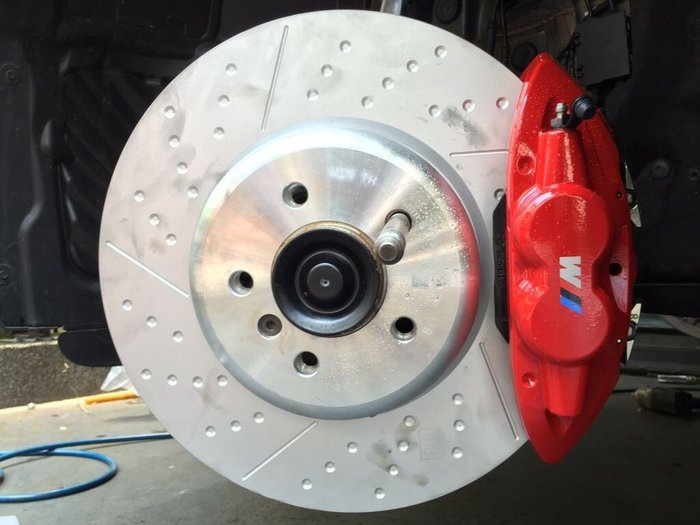 國豐動力 BMW F20 F30 F34 PERFORMANCE 紅色 煞車組全車份 前370mm後345mm