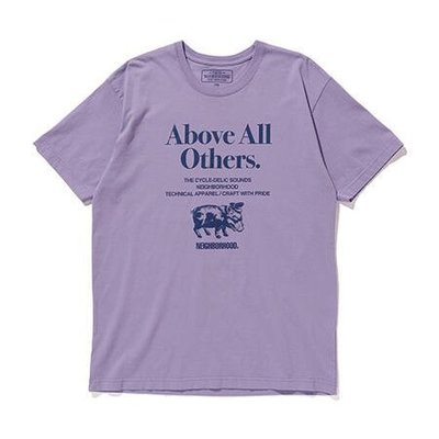 ☆AirRoom☆【現貨】2019SS NEIGHBORHOOD ABOVE ALL OTHERS / C-TEE.SS