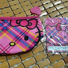 日本帶回~KT~hello kitty 桃紅化妝包