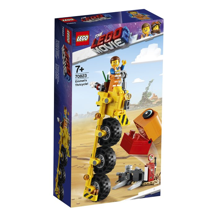 【鄭姐的店】樂高 70823 LEGO MOVIE 系列 - Emmet's Thricycle!