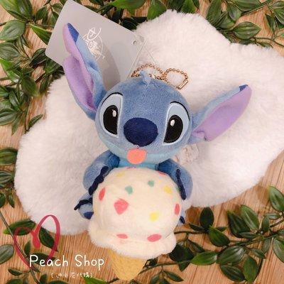 【桃子小舖 ♥ P.S 】 史迪奇冰淇淋造型吊飾 Disney Store