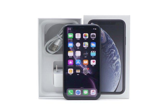 【台中青蘋果】Apple iPhone XR 黑 64G 64GB 二手 6.1吋 蘋果手機 #36712