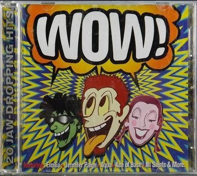 CD WOW! 20 JAW-DROPPING HITS~環球1998~(AJ0215C002)~