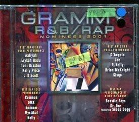 *還有唱片行* GRAMMY R&B RAP NOMINEES 2001 二手 Y8290 (刮、69起拍)