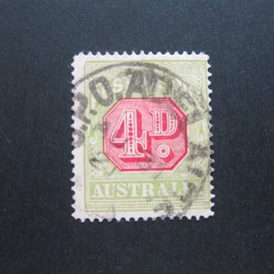 【雲品】澳大利亞Australia 1921 Sc J43 FU