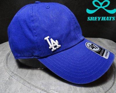 [SREY帽屋]預購*47 Brand CLEAN UP MLB 洛杉磯道奇 LA SUSPENSE 側小標 老帽
