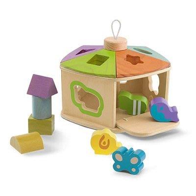 ☆╮花媽╭☆Chicco 木製益智遊戲屋81764