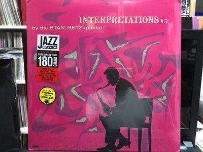 INTERPRETATIONS #3 - by the stan getz quintet 全新未拆封 爵士音樂 黑膠唱片