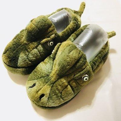 美國帶回 Stride Rite 兒童 男童 派對 動物 怪獸 秋冬 保暖 室內鞋 室內拖 拖鞋
