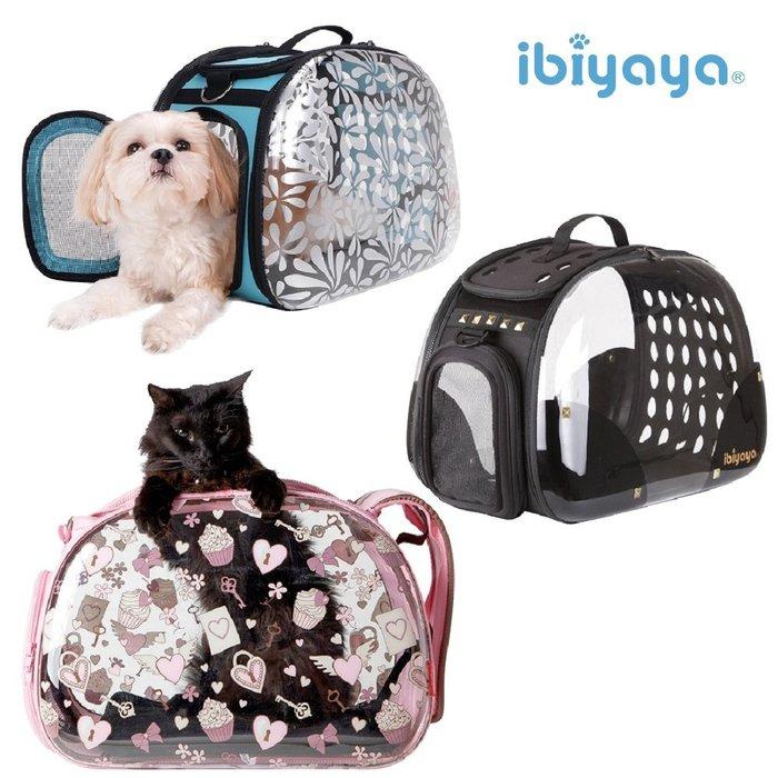 *COCO*依比呀呀透明膠囊寵物提包FC1220(搖滾龐克/杯子蛋糕/忍冬花)犬貓肩背包/外出提籃IBIYAYA