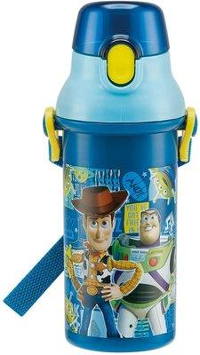 日本製 玩具總動員 直飲式水壺480ml  奶爸商城438592 同系列水壺4款合購免運