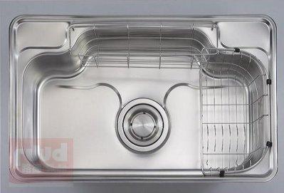【路德廚衛】ENZIK sink韓國不鏽鋼水槽- EDS-850P3 不鏽鋼壓花鋼板水槽 歡迎來電詢問!!
