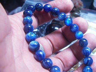 **結緣水晶**漂亮亮藍,透光,閃眼,藍晶石手鍊,22.5公克(6-4),慶祝微解封,買一送一買二送二,送贈品外加免運費