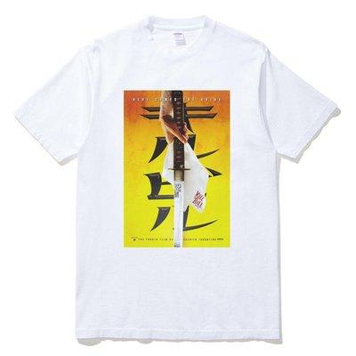 KILL BILL 短袖T恤 白色 經典電影追殺比爾海報